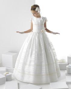 Safira vestido de comunión Rosa Clara