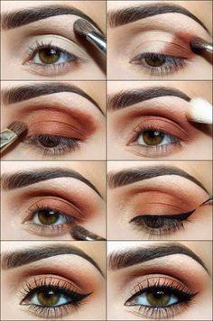 Perfect cat eye makeup. #makeup #tutorial #womentriangle