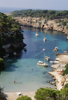 Cala Pí. Mallorca, Spain ~~  by Turisme Illes Balears, via Flickr