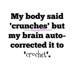 Have an Awesome Monday! Knitting Humor, Crochet Humor, Funny Crochet, Knitting Quotes, Craft Quotes, Cute Quotes, Funny Quotes, Qoutes, Crochet Shirt