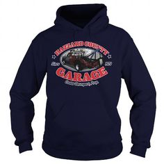 Awesome Tee HAZZARD COUNTY GARAGE T shirts