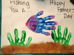 It was a Father's Day craft but its good for whatever!