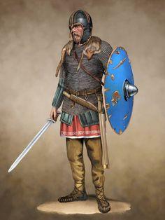 The (Anglian) Coppergate Helmet - Saxon Ealdorman by JLazarusEB on @DeviantArt