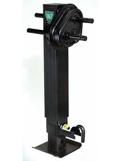 183902 --- BULLDOG Two Speed Drop Leg Trailer Jack - Pin to Side - 12,000 Capacity