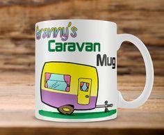 Granny's Caravan Mug  Personalized Mug  Grandma Gift by MugandMore