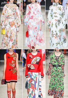 Paris Catwalk Print & Pattern Highlights - Spring/Summer 2018 Ready-to-Wear   Patternbank