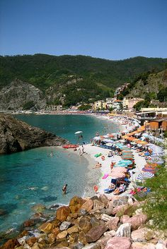Cinque Terre. One of my favorite places.