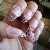 Nails Top Acrylic Nails Gone Wrong Gallery Summer Nail Designs Summer Nails Summer Acrylic Nails French Tip Acrylic Nails Acrylic Nails