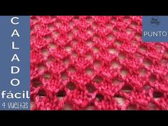 Blog para aprender a tejer con dos agujas, palitos o palillos, paso a paso: patrones modernos, tutoriales en vídeo, puntos, trucos, cursos, técnicas. Lace Knitting Stitches, Lace Knitting Patterns, Knitting Needles, Baby Knitting, Stitch Patterns, Last Stitch, Learn How To Knit, Knitting Videos, Free Pattern