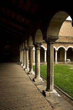 Chiostro del Museo della Cattedrale, Ferrara by Rita Penon | Un weekend visitando i monumenti di #WikiLovesMonuments in #EmiliaRomagna