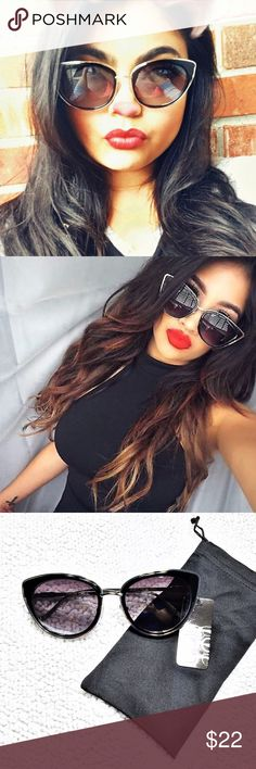 F 💕Host Pick💕 VAVA Voom 😍! 100% UV rated. Not flimsy! Drool worthy! Sunglasses pictured are actual 😊!!!  Buy with confidence!  I am a 100% possitive rated seller on Ⓜ️ •••••••••••••••••••••••••••••••• Make an OFFER ⬇️ Please don't ask me whats the lowest.  •••••••••••••••••••••••••••••••• •Boutique Plastic Sunnies •Condition: Brand New •Shipping: Ships with in 2 days.                               Mirrored glasses, heart glasses and aviator sunglasses coming soon! Accessories Sunglasses