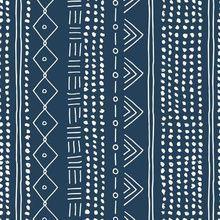 Colorful fabrics digitally printed by Spoonflower - Christmas minimal mudcloth bohemian mayan abstract indian summer love aztec christmas navy blue Tribal Pattern Art, Batik Pattern, Microscopic Photography, Silk Art, Doodle Designs, Linocut Prints, Textiles, Gold Christmas, Simple Christmas
