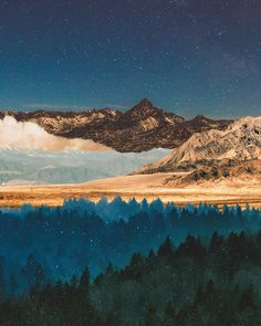 Trippy Wallpaper, Wallpaper Backgrounds, Collages, Collage Art, Bizarre, Mountain Art, Psychedelic Art, Surreal Art, Photomontage