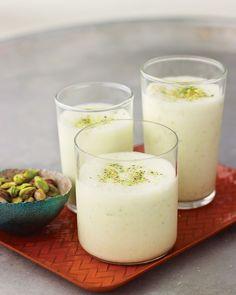 Yogurt-Pistachio Smoothies - Martha Stewart