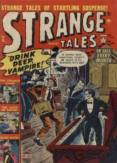 A cover gallery for the comic book Strange Tales Vintage Comic Books, Vintage Comics, Vintage Art, Horror Comics, Marvel Comics, Scary Comics, Marvel Vs, Marvel Masterworks, Tales Of Suspense