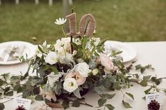 Garden Wedding of Jan & Ban photographed by Wedding Photography with lots of cute wedding details. Bar Mitzvah Centerpieces, Rustic Table Centerpieces, Centrepieces, Table Decorations, Polka Dot Wedding, Table Numbers, Wedding Details, Rustic Wedding, Wonderland