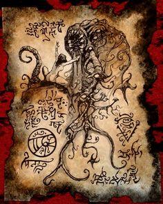 In the Dark Grove by MrZarono.deviantart.com on @DeviantArt