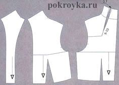 pattern for standing collar jacket