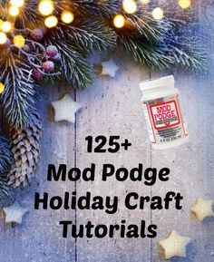 Get started with your decoupage projects for the holiday season early! Here is a huge collection of Mod Podge holiday crafts that you'll love (Christmas, Halloween, Thanksgiving, and more). Great ideas for adults and for kids to make. Christmas Crafts For Gifts For Adults, Crafts For Teens To Make, Winter Crafts For Kids, Spring Crafts, Holiday Crafts, Adult Crafts, Thanksgiving Crafts, Christmas Family Feud, Diy Christmas
