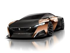Peugeot Onyx: is official Peugeot hybrid concept for the Paris Motor Show