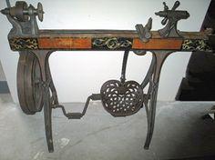 It's Just Cool: Antique Treadle Wood Lathe   Toolmonger