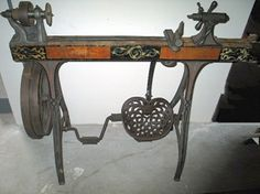 Antique-Sears Wood-Lathe