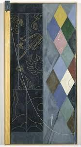 current color inspiration: Jasper Johns, Untitled 1998 oil and encaustic on canvas and wood with objects, Courtesy Matthew Marks Gallery Jasper Johns, Contemporary Artists, Modern Art, Abstract Expressionism, Abstract Art, Pop Art, Neo Dada, Collage Art Mixed Media, Pattern Art