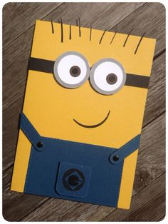 One in a Minion ~ Minions birthday card