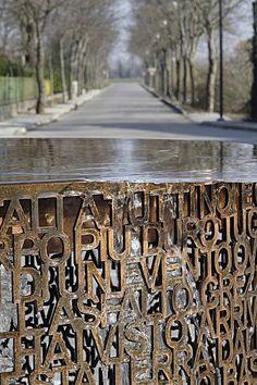 Soramel Gasparini Architetti · Arredo Urbano e Fontana