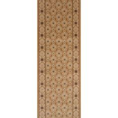 "Meridian Rugmakers Sheohar Brown Area Rug Rug Size: Runner 2'2"" x 8'"