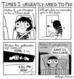 Sarah C. Andersen ☆!! The accuracy is in some other level.😱😱😱😱