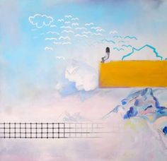 """Saatchi Art Artist Melinda Ilona Dovak; Painting, """"Dimensions"""" #art"""