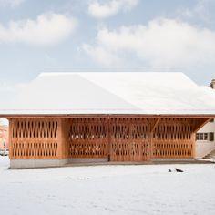 Meier Hug - House with a barn renovation and addition, Zurich 2010. Via, photos © Roman Keller.