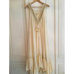 Dress Free People Other size XS International in Cotton - 7691754 Beige Color, Free People Dress, Luxury Consignment, Designer Dresses, Dress Outfits, Things To Sell, Clothes For Women, Cotton, Collection