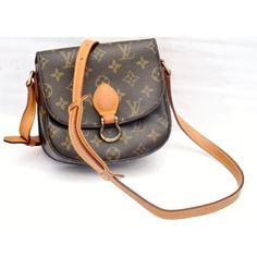Louis Vuitton Saint Cloud PM Monogram Crossbody Bag