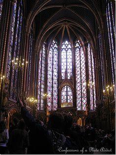 la Sainte Chapelle,