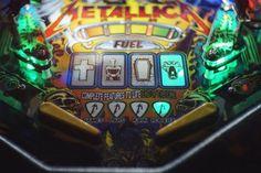On instagram by stefanoboski #arcade #microhobbit (o) http://ift.tt/2158YsB. #pinball  #colours #light #flippers #metalica #green #neon #twitter #shoreditch #glow #bokeh #fujian35mm