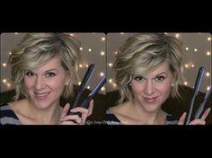 My Winter 2014-15 Asymmetrical Bob; with video tutorial. #bob #invertedbob #curlybob #stackedbob #curlyhair #hairstyles #2015hairstyles