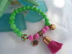 SALE GYPSY AMULET Bracelet Ethnic braceletBohemian by Nezihe1, $16.00