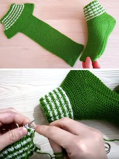 Best 11 Two Needle Socks – Free Knitting Pattern – SkillOfKing. Knitting Socks, Knitting Stitches, Knitting Patterns Free, Free Knitting, Baby Knitting, Free Pattern, Knitted Booties, Knitted Slippers, Crochet Slippers