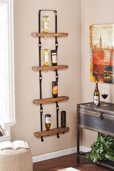 Wall Mount Wine Storage