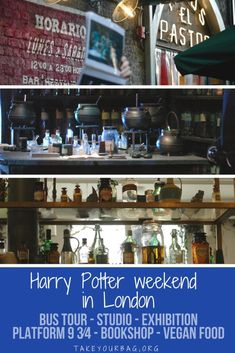 Magical Harry Potter Weekend in London | Harry Potter Bus Tour London | Harry Potter Studio Tour London | Warner Bros Harry Potter Tour | Daunt Books | Vegan restaurants | Making of Magic British Library | #HarryPotter #PotterHead #HarryPotterLondon