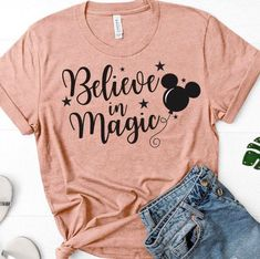 Excited to share the latest addition to my shop: Believe in Magic Disney Shirt - Disney Shirt - Magic Kingdom Shirt - Disney Matching Shirts - Disney Family Shirts - Disney T Shirt Disney World Outfits, Cute Disney Outfits, Disney Clothes, Modern Disney Outfits, Disney Worlds, Matching Disney Shirts, Disney Shirts For Family, Cute Disney Shirts, Disney Sweatshirts