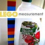 Preschool Math Lesson : Lego Measurement