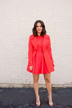 Valentine's Day outfit ideas - bebe dress - @mystylevita