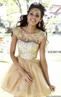 I want this dress for new years so badly!!!!!  Sherri Hill 21217 by Sherri Hill