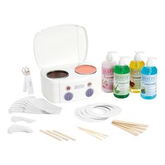 Satin Smooth Professional Double Warmer Wax Kit – Keep up with the times. Wax Spa, Wax Warmer Kit, Waxing Kit, Waxing Products, Hair Products, Esthetics Room, Calming Oils, Remove Wax, Soften Hair