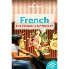 Lonely Planet French Phrasebook 5th Edition - Mountain Equipment Co-op. Free Shipping Available