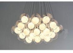 Modern 6 luces de cristal Soapsuds comedor luz colgante estudio romántica colgante marca de lámpara nueva Blacony Pendnat iluminaciones en Luces Colgantes de Iluminación en AliExpress.com | Alibaba Group