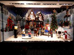 Escaparates navideños de La Rinascente